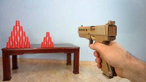 纸板手工制作自动手枪wgog927 (13)