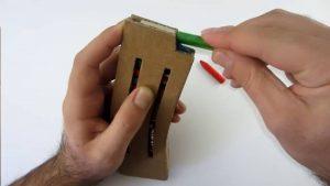 如何用纸板制作一把m4冲锋枪 (12)