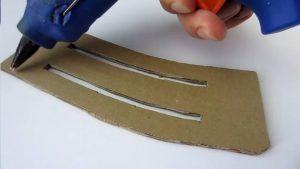 如何用纸板制作一把m4冲锋枪 (5)