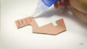 纸板手工制作玩具枪 (10)