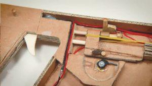纸板手工制作玩具枪 (6)