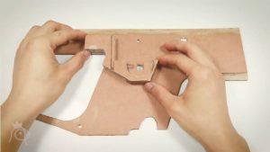 纸板手工制作玩具枪 (9)