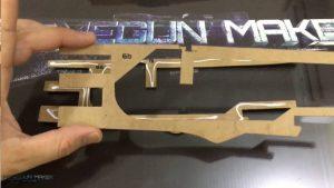 如何用纸板制作一把连发橡皮筋的纸板玩具枪wgog943 (11)