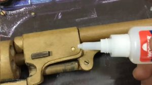 纸板枪图纸下载如何用纸板制作柯尔特转轮纸板玩具手枪wgog944-完美细节 (1)